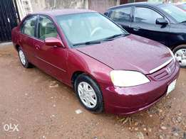Honda Civic 2003 registered