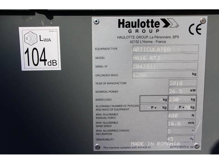 Haulotte HA16RTJ - 2018 - image 10