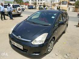 Toyota wish extremely clean,buy and drive