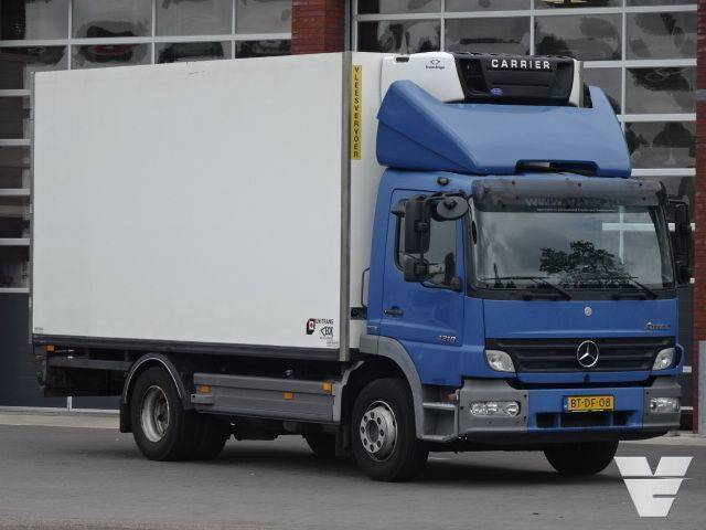 Mercedes-Benz Atego 1218 Frigobox Hooks / Rohrbahnen / Vleeshang Carrier - 2007