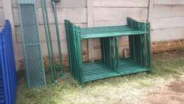 7m H Scaffolding new complete set with wheels only R6375