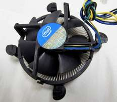 Intel Socket 1156 Original Copper Heatsink Fan
