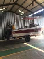 19 Ft Tomcat fishing boat