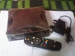 GOtv Decoder with Remote and Charger