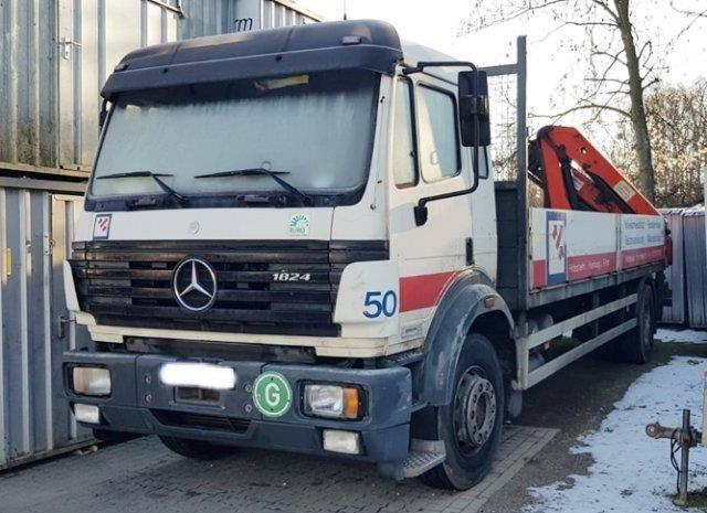 Mercedes-Benz SK 1824 L 4x2 SK 1824 L 4x2 mit Heckkran Palfinger PK11000 B - 1996