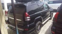 Fully loaded Toyota Land cruiser Prado available for sale.
