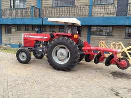 Massey Ferguson MF 385 (Brand New) with Disc Plough 1 Year Warranty