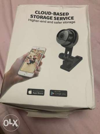 WIFI security cam works on android and apple phones
