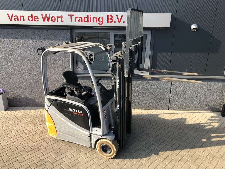 Heftruck STILL RX20-14 triplo430 freelift sideshift 201... - 2015 - image 2