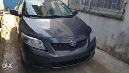 D Excellent tokunbo 2009 corolla ,first body, accident free