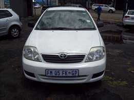 Toyota corolla 1,6 Model 2006,5 Doors factory A/C And C/D Player