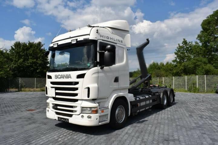 Scania R440 Abrollkipper MEILLER 6x2 lenk-lift 7m Cont. - 2011