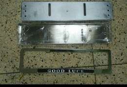 Frame number plate cover
