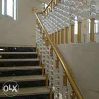 Crystal Handrails in Lagos