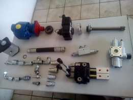 hydraulic components, hoses and fittings