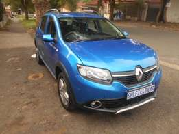 Renault Sandero 1.6 Stepway 66kW turbo, 2015 model for sale