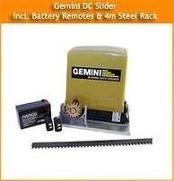 centurion or gemini gate , garage motor with warranty , electric fence
