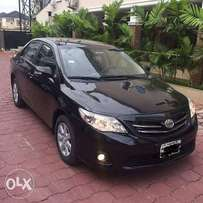 Toyota corolla 2012. Nigerian used. Top shape and very good working