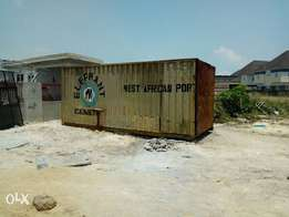 20 feet Empty Container For Sale at Lekki