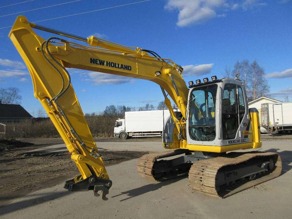 New Holland E135bsr - 2008