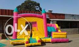 kids bouncing castles,trampoline facepainting and clown