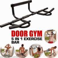 Door gym set