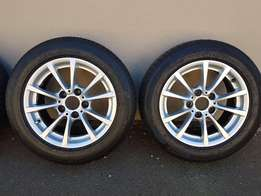 BMW (F30}) Mags and Tyres 16 inch
