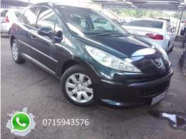 Peugeot 207 1.4, service record.