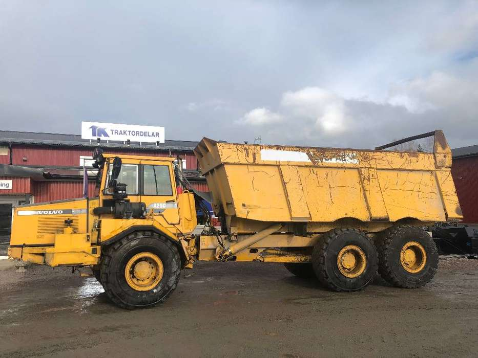 Volvo A 25 C Dismantled For Spare Parts