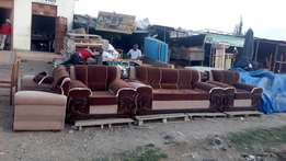 Leather a velvex sofas on sale at shalom furniture