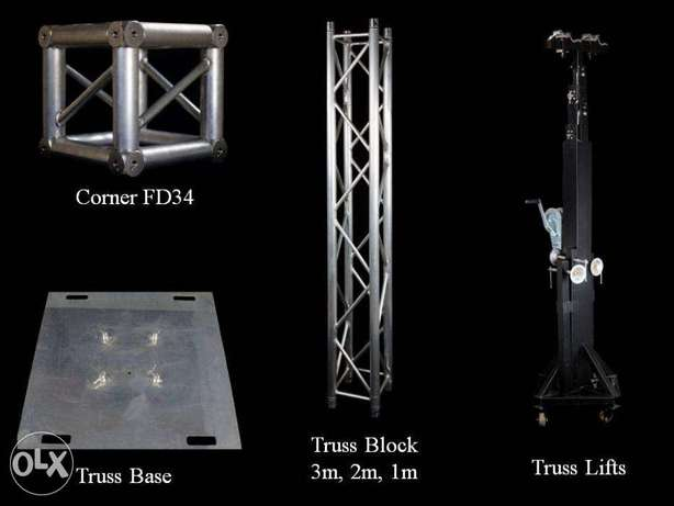 Aluminum Truss For Audio & Lighting