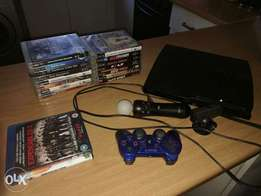Sony PS3 Controllers anf games