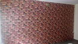 Clay bricks Wall paper