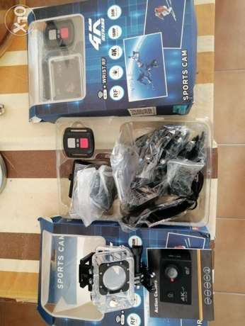 Action camera full HD wifi with remote