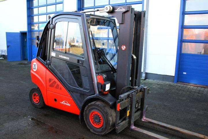 Linde H30t/393 Treibgas Triplex 3,to Frontstapler Top! - 2007