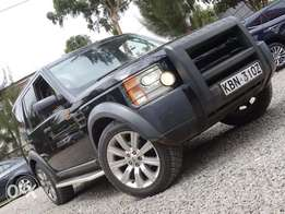 Land rover discovery 3 black colour 2005 model excellent condition