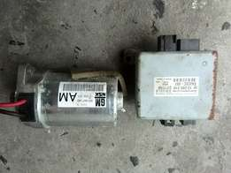 Opel corsa car/bakkie gamma shape electric steering motor and control