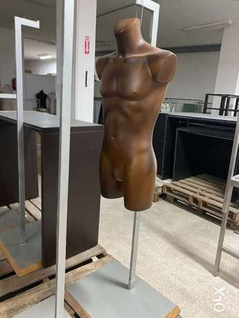 Male mannequin With stand