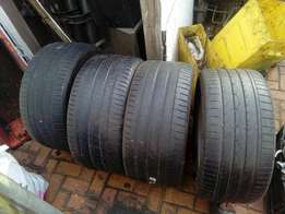 "21"" tyres ×4"