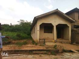 Half plot inside progressive estate ojodu 5m very neg