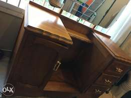 Old fashioned dressing table