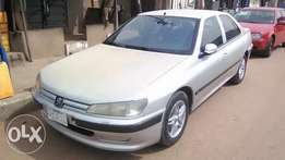 Neatly used silver bird Peugeot 406