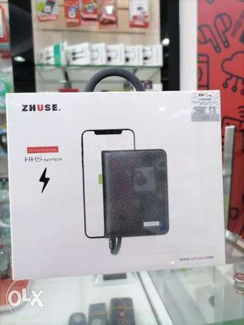 ZHUSE Wallet With 4,000mAh Power Bank