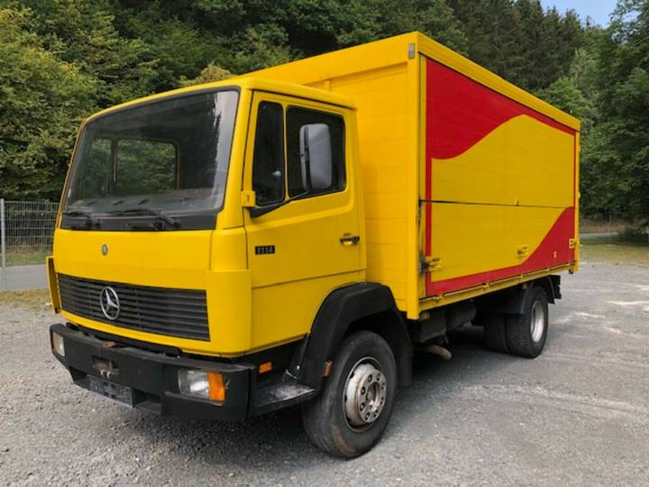 Mercedes-Benz 1114 ** Schaltung/Blatt/Motorbremse ** - 1990