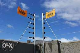 we install ,supply ,maintain electric fence accesories