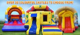 Bouncing castles for hire and sale