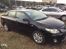 Neatly Driven Registered 2010 Toyota Corolla. N1,8mill
