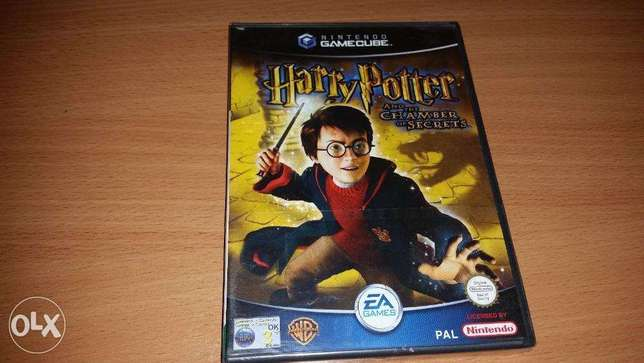 harry potter & the chamber of secrets for gamecube