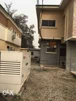 Nice 3 bedroom flat with a room bq service inside Adeniyi Jones ikeja