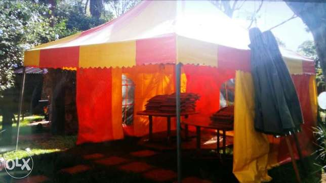 Partytent with two sidecovers 5x5meters Nyari - image 2